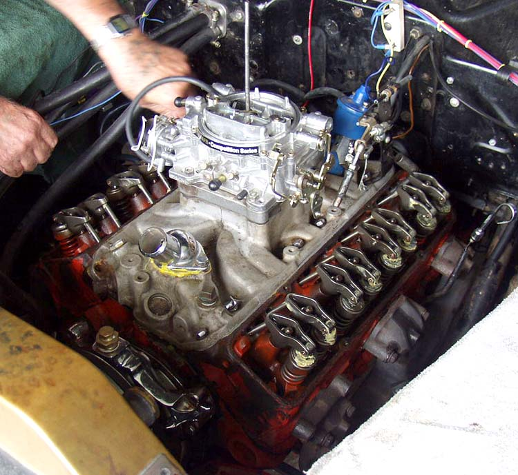 40 Ford SBC Engine Reassembly 06/04/05