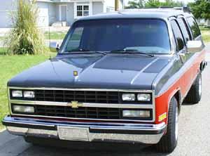 89 Chevy Silverado Suburban