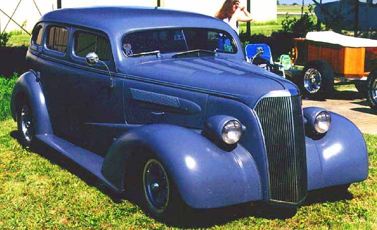38 Chevy 4dr Sedan Hot Rod