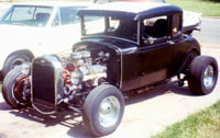 31 Ford Model A Coupe Hot Rod