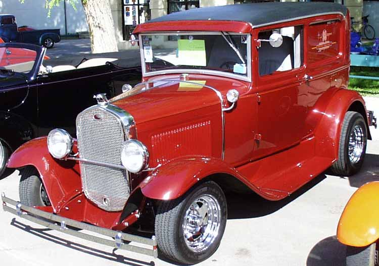 30 Ford Model A Sedan Delivery