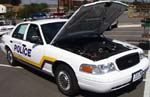 00 Ford 4dr Valley Center Police Cruiser