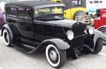 30 Ford Model A Chopped Tudor Sedan
