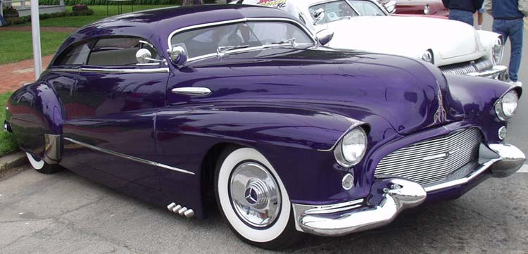 48 Buick Chopped Coupe Leadsled