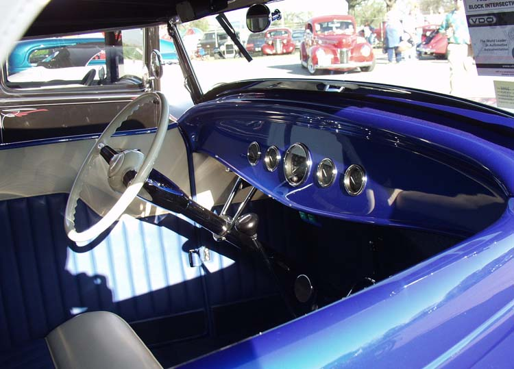 32 Ford Hiboy Roadster Dash