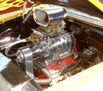 55 Chevy Nomad S/C V8 Engine